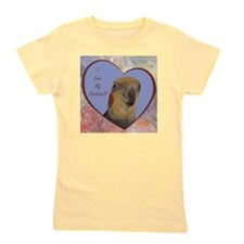 I Love My Cockatiel! Heart Girl's Tee