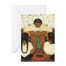 Diego Rivera Greeting Card