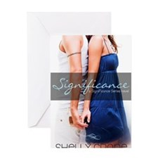 Significance cover Greeting Card