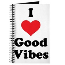 I Love Good Vibes Journal