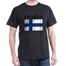Lucky Enough To Be Finnish Suomi Shir T-Shirt