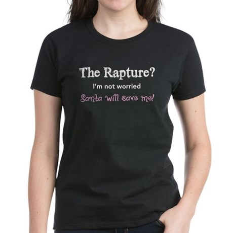The Rapture vs. Santa Women's Dark T-Shirt