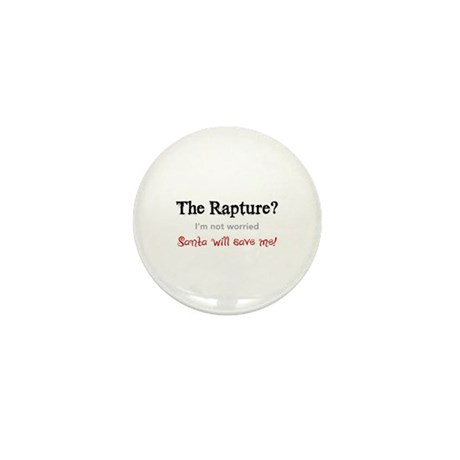 The Rapture vs. Santa Mini Button (10 pack)