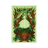 GreenmanHerne Rectangle Magnet