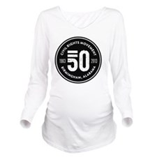 50 Years Forward Long Sleeve Maternity T-Shirt