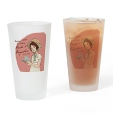 Pride  Prejudice 200 Years Drinking Glass