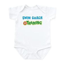 Swim Coach in Training Infant Bodysuit
