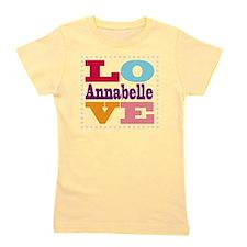 I Love Annabelle Girl's Tee