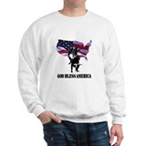 God Bless America Bullrider Sweatshirt