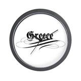 Greece Gothic Wall Clock