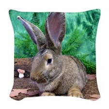 Fezzik in the Woods-1 full Woven Throw Pillow