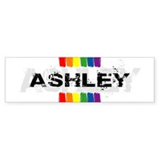 pride ashley Bumper Bumper Sticker