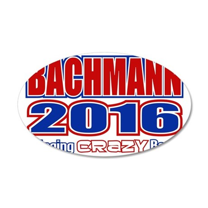 Bachmann President 2016 Craz 35x21 Oval Wall Decal