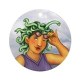 Medusa Ornament (Round)