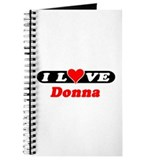 I Love Donna Journal