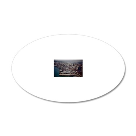 Seattle 1962 20x12 Oval Wall Decal