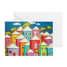 Little Village Greeting Card