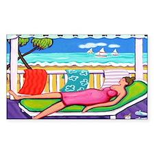 Seaside Siesta - Beach Decal