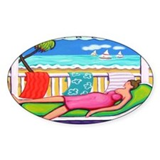 Seaside Siesta - Beach Decal