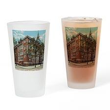 Vintage St X Postcard Drinking Glass