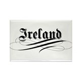 Ireland Gothic Rectangle Magnet (10 pack)