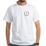 Napoleon gold number 3 White T-Shirt