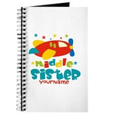 Middle Sister Plane - Personalized Journal