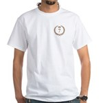 Napoleon gold number 7 White T-Shirt