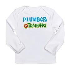 Plumber in Training Long Sleeve Infant T-Shirt