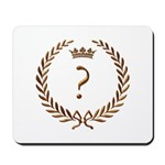 Napoleon gold ? (question mark) Mousepad