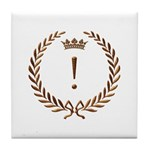 Napoleon gold ! (exclamation mark) Tile Coaster