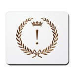 Napoleon gold ! (exclamation mark) Mousepad