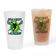 Grayson Lacrosse Drinking Glass