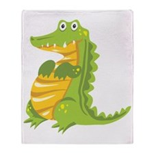 Gator Throw Blanket
