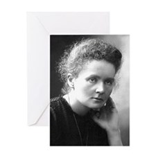 mariecurie Greeting Card