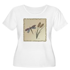 Earth Tones Dragonfly T-Shirt