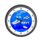 US Navy Wall Clock