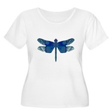 Midnight Blue Dragonfly T-Shirt