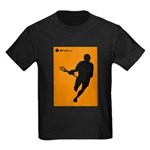 Lacrosse I Roll Kids Dark T-Shirt