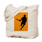 Lacrosse I Roll Tote Bag