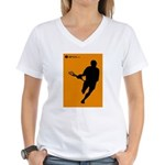 Lacrosse I Roll Women's V-Neck T-Shirt