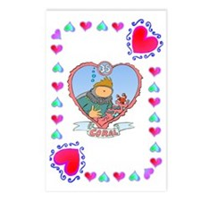35th Wedding Anniversary, Postcards (Package of 8)