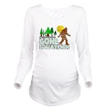 Distressed Original  Long Sleeve Maternity T-Shirt