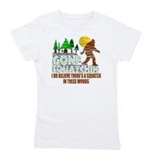Distressed Original Gone Squatchin Desi Girl's Tee