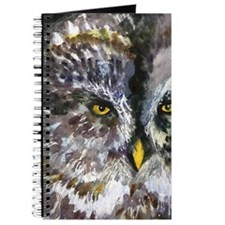 Yellow Owl Eyes Journal