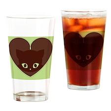 Buckys Mint Chocolate Keepsake Box Drinking Glass