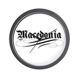 Macedonia Gothic Wall Clock