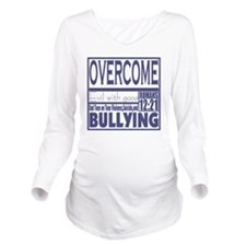 Overcome Bullying Na Long Sleeve Maternity T-Shirt