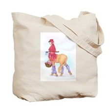 Lucy and Mr. Tumnus / Carmen the Centaur -Tote Bag