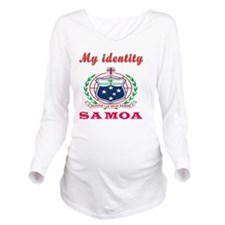 My Identity Samoa Long Sleeve Maternity T-Shirt